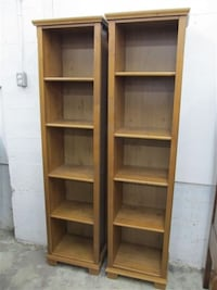 Two book shelfs  Central Okanagan, V4T 1H9