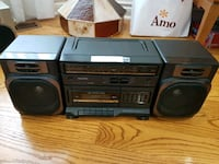 Sanyo AM/FM stereo with tape deck Toronto, M1S 1A6