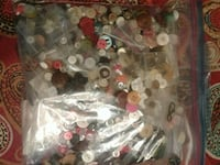 Assorted buttons from 1960's to present  Salinas, 93907