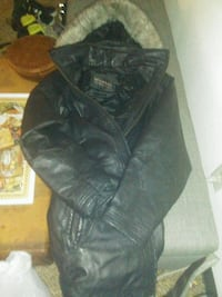 Womens Wilsons winter leather coat size small