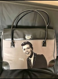 beige and black leather tote bag Canterbury, CT1 2LB