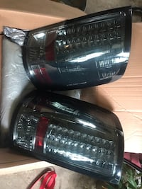 Gmc Sierra smoked led tail lights used great shape ! Pittsburgh, 15236
