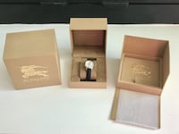 Brand new and authentic Burberry diamond watch