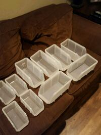 Small plastic bins Lackawanna County, 18444