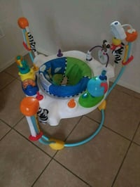 baby's white and blue jumperoo Tucson, 85757
