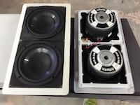 In Wall Subwoofer system Pauls Valley