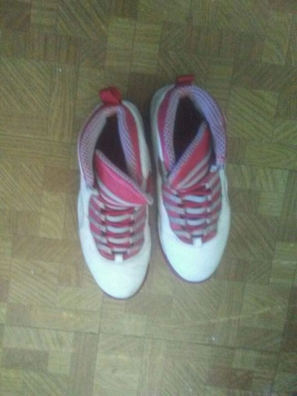 239c50c11 Used pair of white-and-pink sneakers for sale in Queens - letgo
