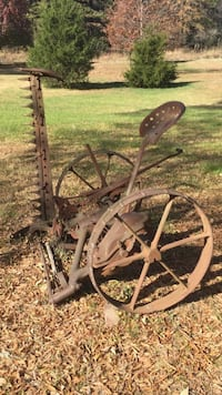 Antique mower collectible