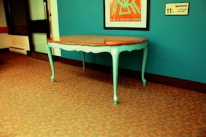1950s French dining table