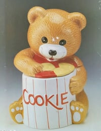 Teddy Bear Ceramic Cookie Jar (Brand New) Mississauga, L5J 4B3