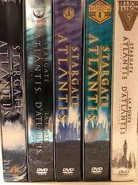 DVD - Stargate Atlantis - the complete series - All 5 seasons watched only once Dollard-des-Ormeaux, H9G 2W1