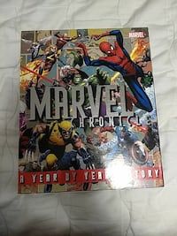 Marvel chronicle: a year by year history Elkridge, 21075