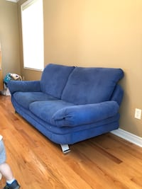 European made sofas. Blue colour. Must be gone today Whitchurch-Stouffville, L4A 0B5