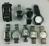assorted analog watches with link bracelets Katy, 77449