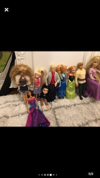 Dolls clothings and accesorias