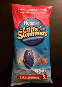 2 Pack Huggies Little Swimmers Swim Pants Large Montréal, H8P 3A6