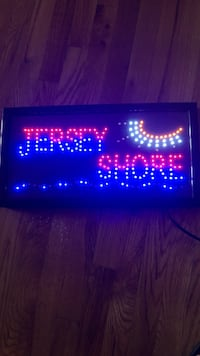 Jersey shore led sign