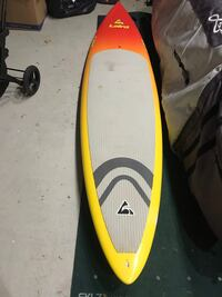 Yellow and black paddle board surfboard with traction pad Tinton Falls, 07724