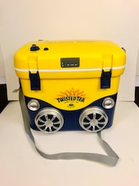 Twisted Tea Cooler With Bluetooth Speakers  Ortonville, 48462