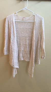 Summer Cream Cardigan (Size: S) Chantilly, 20152