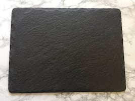 New West Elm Slate Cheeseboards / Placemats