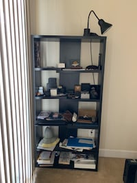 black wooden 5-layer shelf Germantown, 20874