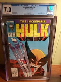 Marvel the Incredible Hulk comic book