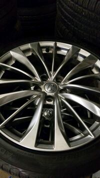 Infiniti rims and tires  Vaughan