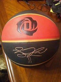 Derrick rose indoor basketball  Barrie