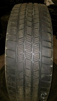 set of 4 Michelin LTX winter tires. 245_70/17.