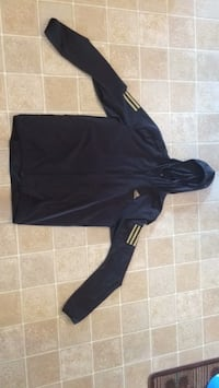 Adidas running jacket black and gold small worn once Centre Wellington, N1M 3V5