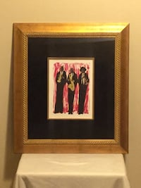 3 Jazz Men by Holyfield - Jazz Black Art Laurel
