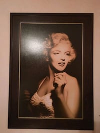 Marilyn Monroe Canvas Church Hill, 37642