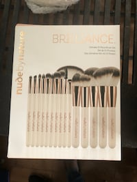 Nude by nature cruelty free makeup brushes Toronto, M6M 1M3