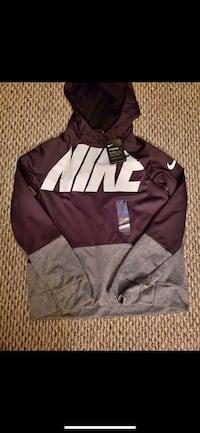 black and white Nike pullover hoodie Catonsville, 21228