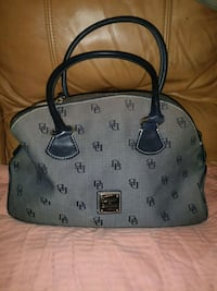 gray and black Dooney & Bourke leather tote bag Phoenix, 85022
