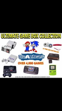 ULTIMATE GAME BOX OVER 4,000 GAMES INCLUDES EVERYTHING Phoenix, 85021