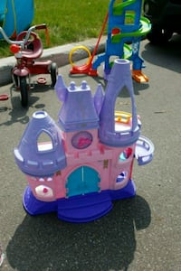 toddler's purple and pink plastic toy Laval