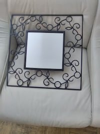 Wrought Black Iron Wall Mirror Toronto, M6E 4V2
