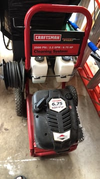 red and black Troy-Bilt pressure washer Clinton Township, 48038