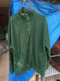 Micro fleece pullover shirt. Large  Lowell, 28098