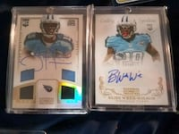 Tennessee titans football cards with autographs Murray, 84107