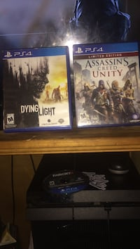 Dying Light and Assasin's Creed for ps4 Polkton, 49404