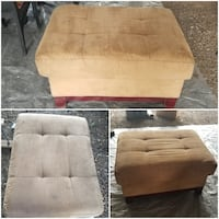Large Ottoman/Footstool. FOR PICK UP ONLY!