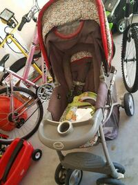 baby's gray and orange stroller Whitchurch-Stouffville, L4A 8A5