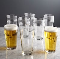 New, pint glass tumblers with crown Alexandria, 22302
