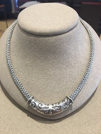 Silver chain necklace Southlake, 76092