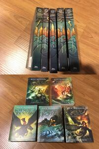 Rick Riordan - Percy Jackson books: 2 sets, 1 partial, 2 singles NORTHYORK