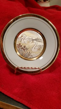 Swan decor plate SOUTHBEND