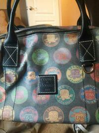 black, green and yellow Dooney and Bourke tote bag Augusta, 30905